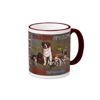 Dog Show, New England Kennel Club Ringer Mug