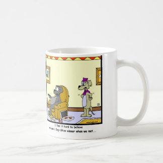 Dog-Show Winner: Dog cartoon Basic White Mug