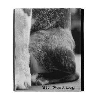 Dog Sit iPad Folio Case