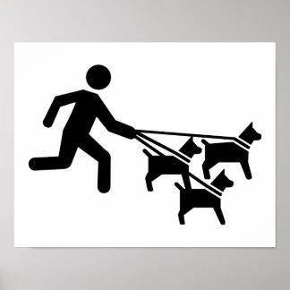 Dog sitter poster