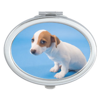 Dog Sitting 2 Travel Mirrors