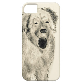 Dog sketch iPhone 5 case