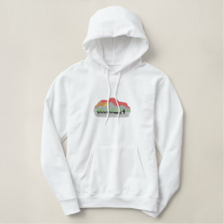 Dog Sled Embroidered Hoodie