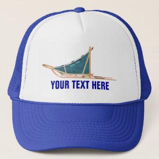 Dog Sled Trucker Hat
