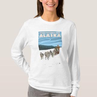 Dog Sledding Scene - Denali Nat'l Park, Alaska T-Shirt