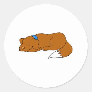 Dog Sleeping Stickers