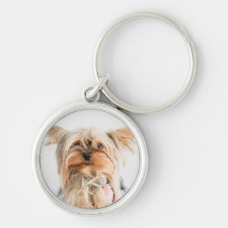 "Dog Small (1.44"") Premium Round Keychain"