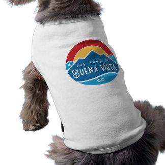 Dog sweater with round logo shirt