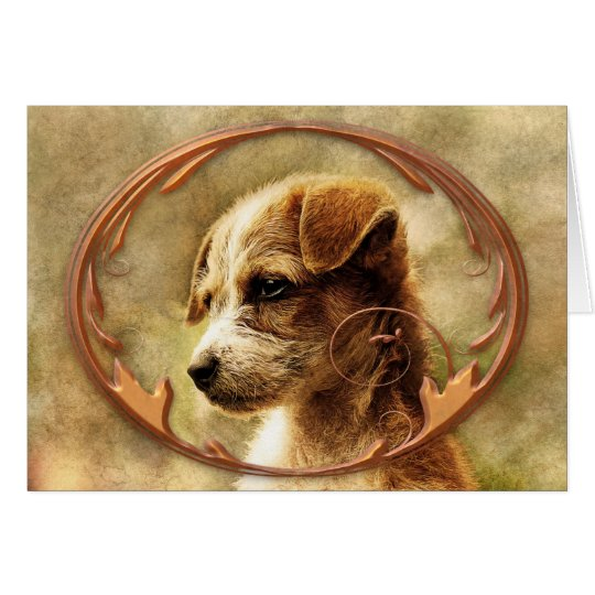 Dog Sympathy Card (In Loving Memory)