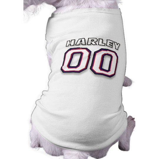 Dog T-shirt - NAME HARLEY - 00 Sports