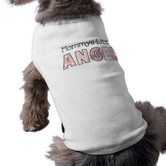 Dog T-Shirt Pet Clothing Mommy's Little Angel 3