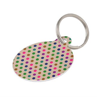 Dog Tag Polka Dots