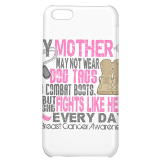 Dog Tags Breast Cancer Mother iPhone 5C Case