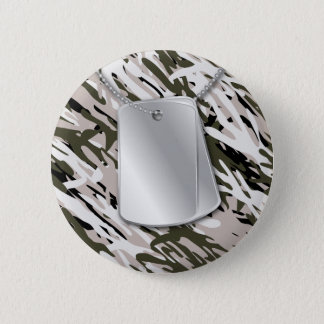 Dog Tags & Camo Button