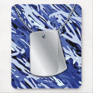 Dog Tags & Camo Mousepad