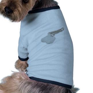 Dog Tags Pet Clothing
