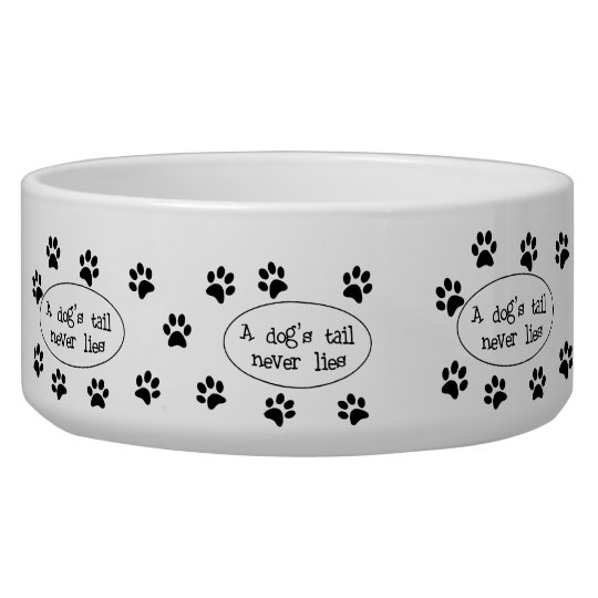 Dog Tail Dog Bowl