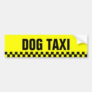 Dog Taxi Bumper Sticker Car Bumper Sticker