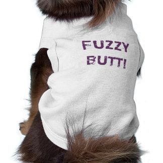 Dog Tee - Fuzzy Butt