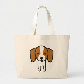 Dog Template Jumbo Tote Bag