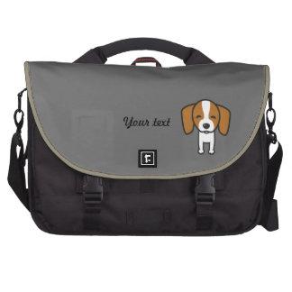 Dog Template Laptop Messenger Bag