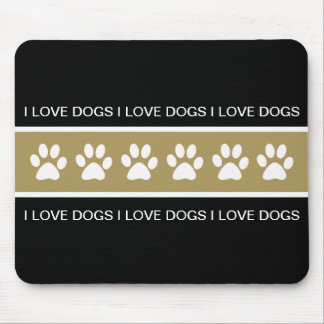 Dog Theme Mouse Pad