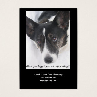 Dog Therapy Business Card II