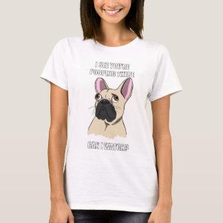 Dog Toilet Watcher (Womens) T-Shirt