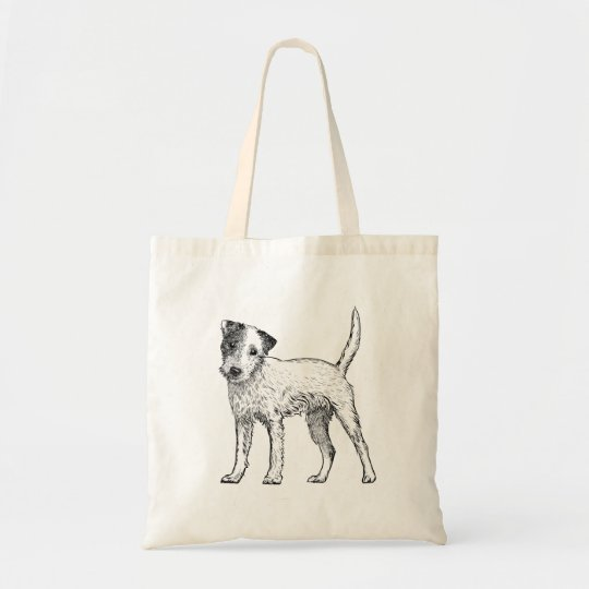 Dog Tote Bag - Jack Russell / Parsons