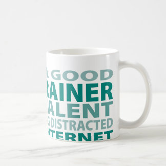 Dog Trainer 3% Talent Basic White Mug