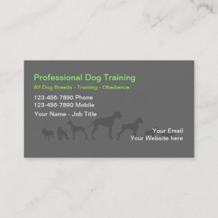 Dog training business cards business card printing zazzle uk dog trainer business cards colourmoves