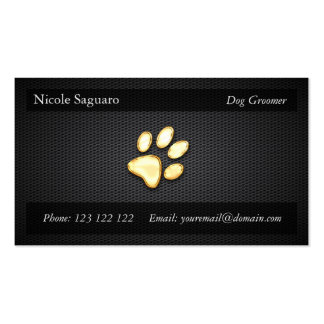 Dog Trainer Groomer Pack Of Standard Business Cards