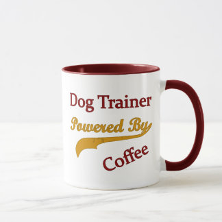 Dog Trainer Powred By Coffee