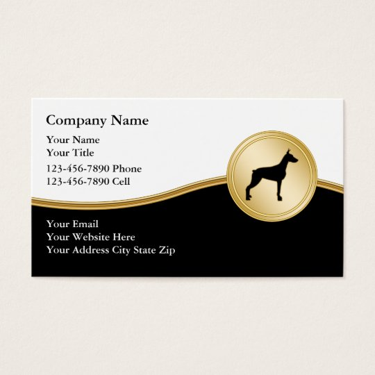 Dog Training Business Cards