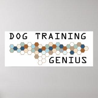 Dog Training Genius Poster