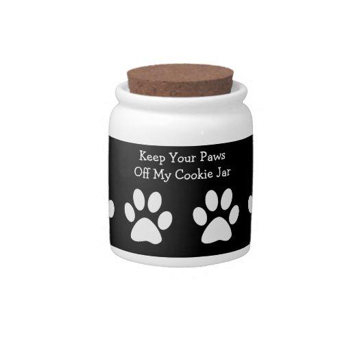 Dog Treat Cookie Jar Candy Jar