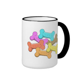 Dog Treats Ringer Mug