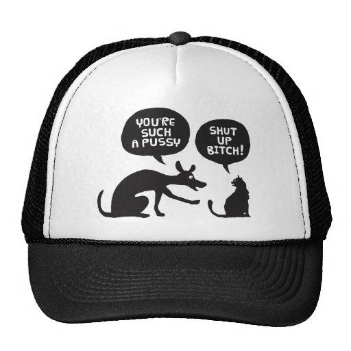 Dog versus Cat Mesh Hats