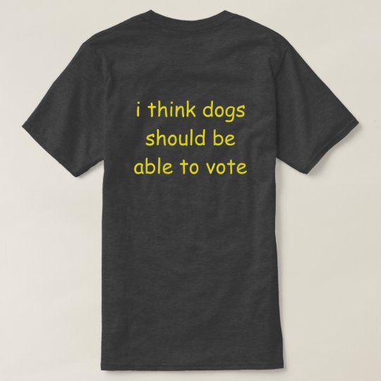 dog vote T-Shirt