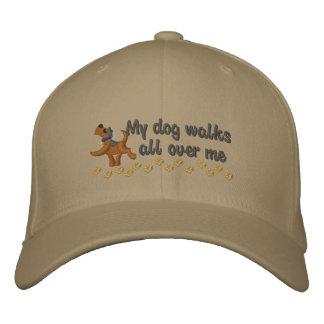 Dog Walk Embroidered Baseball Cap