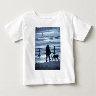 Dog Walker at Roker Baby T-Shirt