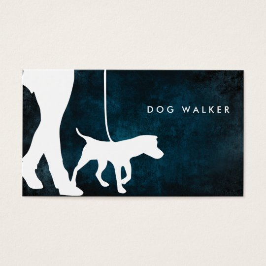 "Dog walker business card 3.5"" x 2.0"", 100"