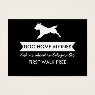 Dog Walker Business Card - Personalizable
