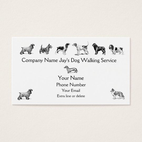 Dog Walker Groomer Pet Care Service Custom Company