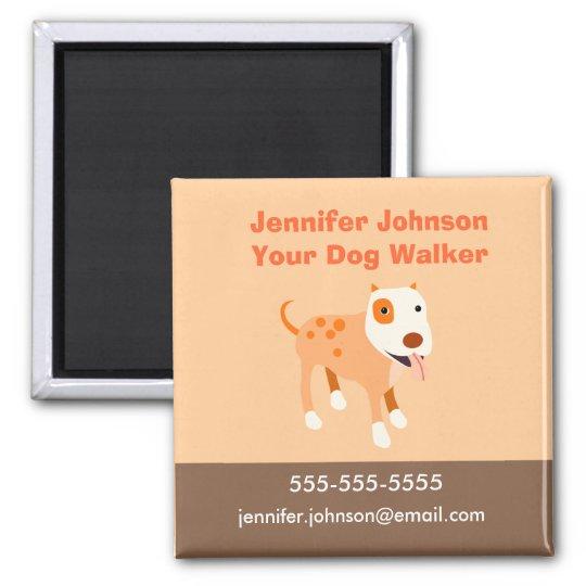 Dog Walker Magnet