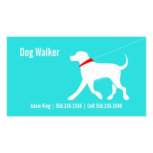 Create your own dog walker business cards dog walker pet business lab modern coastal business cards colourmoves