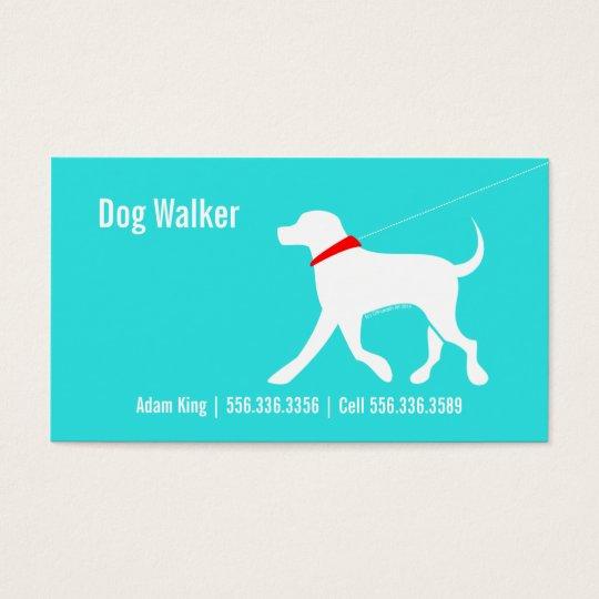 Dog Walker Pet Business Lab Modern Coastal Business