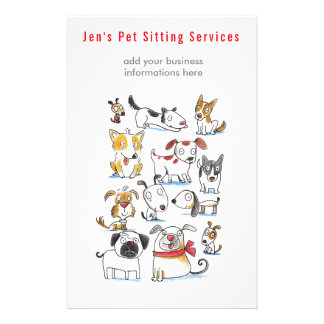 Dog walker Pet Sitting Services Flyer