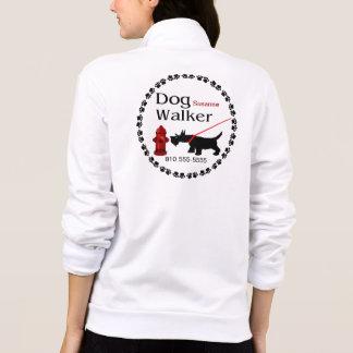 Dog Walker Printed Jacket