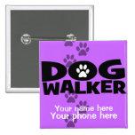 Dog Walking and Dog Walker promotion! Button